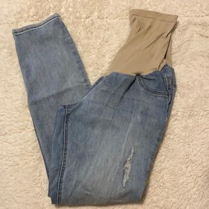 Thyme Maternity Skinny Jeans Size XL